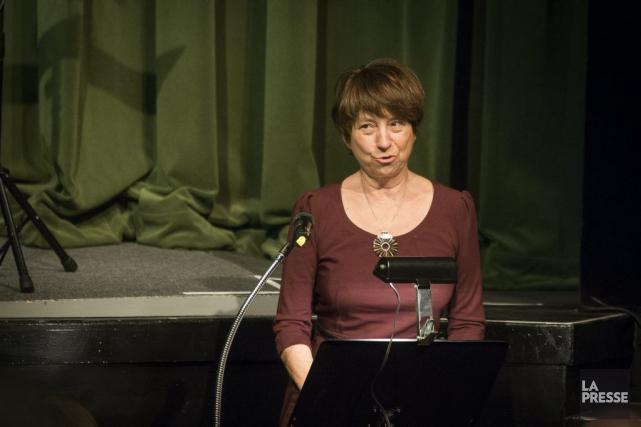 La coporte-parole de Québec solidaire (QS), Françoise David... (PHOTO OLIVIER PONTBRIAND, ARCHIVES LA PRESSE)
