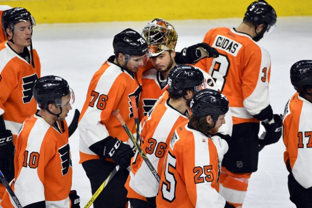 Les Flyers doivent augmenter leur gabarit, leur vitesse... (Photo Derik Hamilton, archives USA Today Sports)