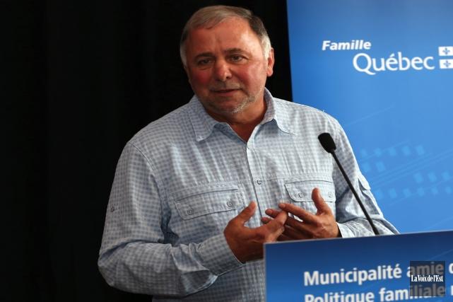 Le ministre de l'Agriculture et député provincial de... (archives La Voix de l'Est)