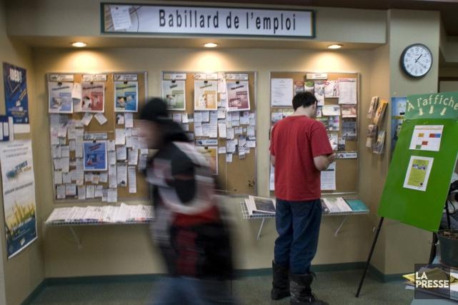 Québec mise plus que jamais sur les carrefours jeunesse-emploi pour convaincre... (Photo archives La Presse)