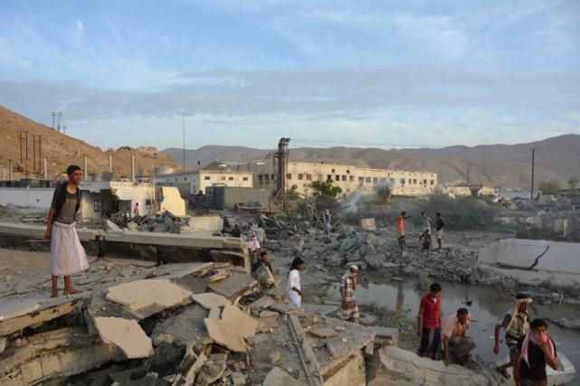 Moukalla, chef-lieu de la province du Hadramout, était... (PHOTO REUTERS)
