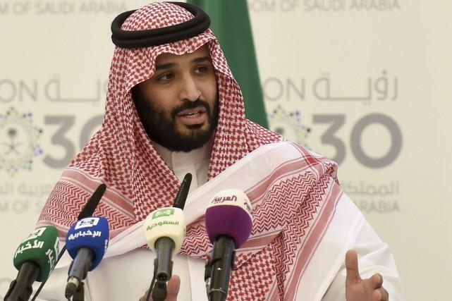 Ayant la réputation d'un réformateur pressé, levice-prince héritier... (AFP, Fayez Nureldine)