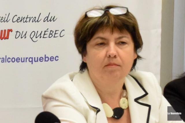 Josée Marcotte est vice-présidente responsable du personnel de... (François Gervais, Le Nouvelliste)