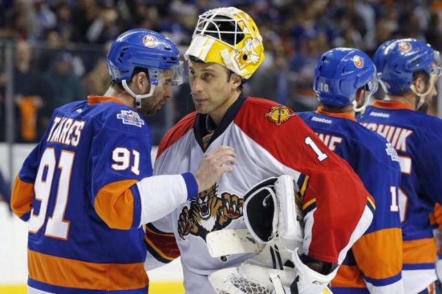 En Roberto Luongo, les Panthers s'appuient sur un... (PHOTO AP)