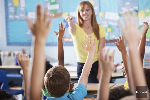 Le comité de mobilisation pour une nouvelle école à Val-des-Monts lance un défi... (Archives, Le Soleil)