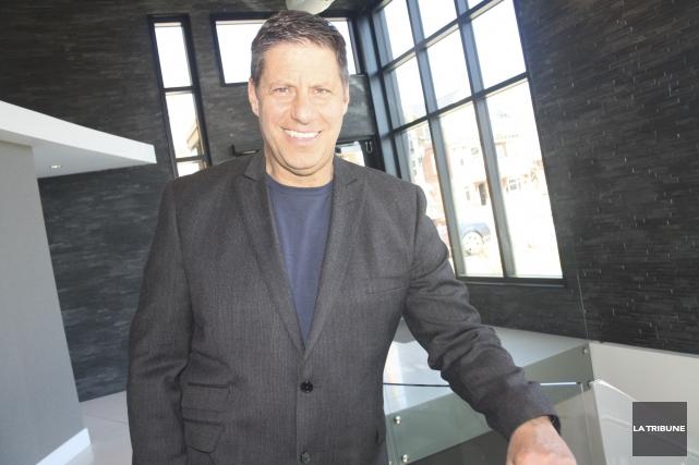 En affaires comme dans le sport, Gilles Bélanger ne fait jamais rien à moitié.... (La Tribune, Jean-François Gagnon)