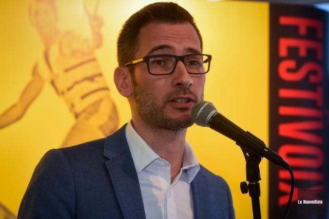 Le directeur général du FestiVoix Thomas Grégoire a... (François Gervais, Le Nouvelliste)