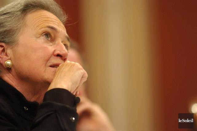 L'ex-lieutenante-gouverneure Lise Thibault... (Photothèque Le Soleil)