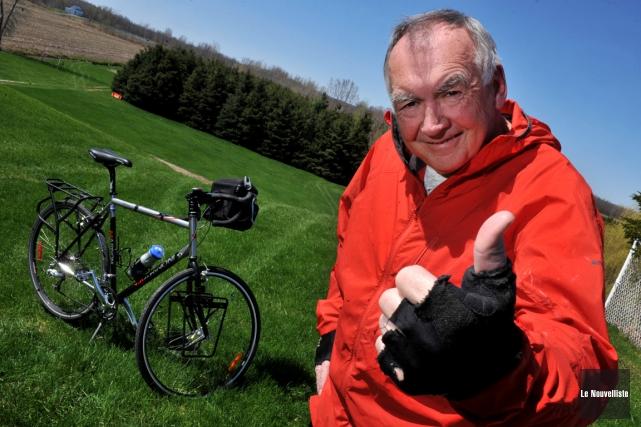 Michel Beaudoin traversera le Canada à vélo après... (Archives, Le Nouvelliste)