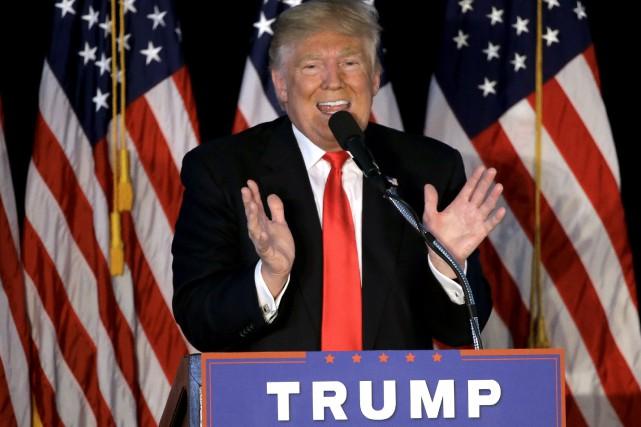 Donald Trump a réussi l'improbable. Il est l'homme... (AP, Steven Senne)
