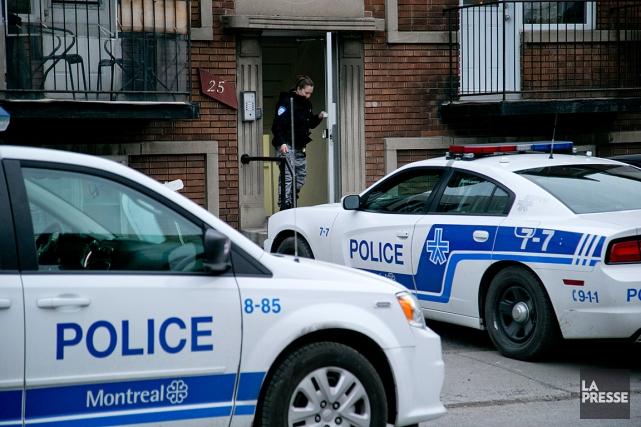 L'agression s'est produite dans un immeuble de l'avenue... (PHOTO DAVID BOILY, LA PRESSE)