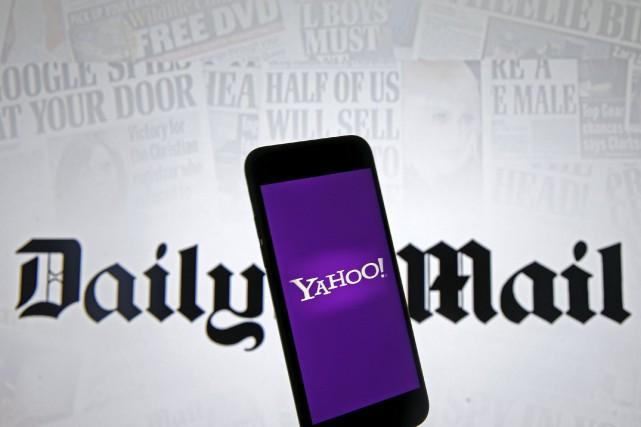 En lice parmi les repreneurs potentiels du portail internet Yahoo!, le... (Photo archives Reuters)