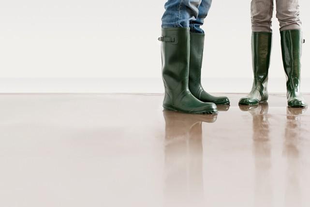 Saviez-vous que les dégâts d'eau représentent près de la moitié des causes de... (Photo: iStock)
