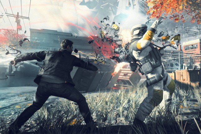 Quantum Breakest un jeu de tir à la...