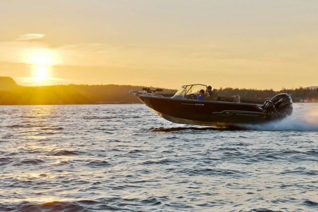 L'entreprise de fabrication de bateaux de pêche et de pontons en aluminium... (Photo tirée de Facebook)