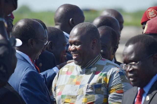 «Nous devons rassembler notre peuple pour qu'il puisse... (PHOTO SAMIR BOL, AFP)