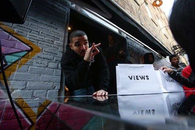 Drake a annoncé une tournée estivale avec Future, mais Montréal ne fait pas... (PHOTO LA PRESSE CANADIENNE)
