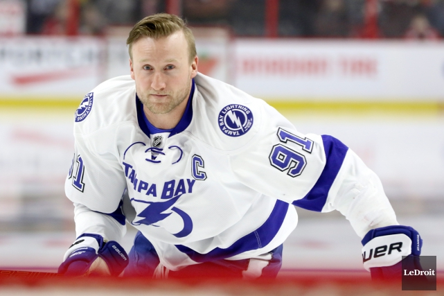Steven Stamkos... (Photo Patrick Woodbury, archives Le Droit)