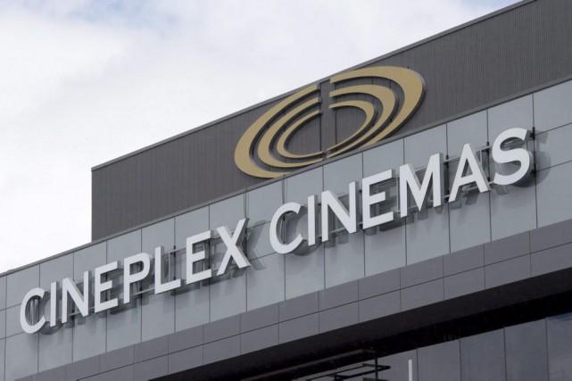 Cineplex Divertissement a annoncé que toutes les séances de visionnement du... (PHOTO LA PRESSE CANADIENNE)