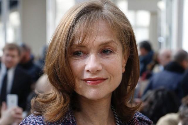 Isabelle Huppert, vedette de Phèdre(s) présenté au Théâtre... (PHOTO ARCHIVES AFP)