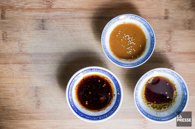 Il est possible de confectionner plusieurs sauces très... (PHOTO EDOUARD PLANTE-FRÉCHETTE, LA PRESSE)