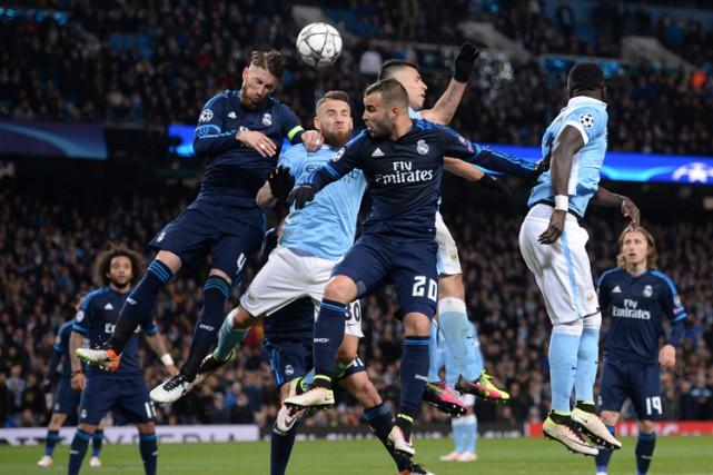 Le Real Madrid a bien fait en dépit de l'absence de Cristiano Ronaldo et... (PHOTO AFP)