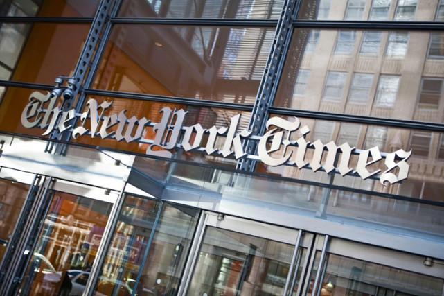 Le New York Times a annoncé mardi son intention de fermer les... (ARCHIVES AFP)