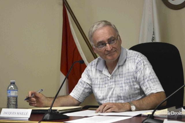 Le maire sortant de Lac-Simon, Jacques Maillé, tentera... (Benoit Sabourin, Archives Le Droit)