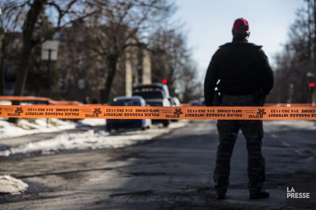 La baisse historique de la criminalité s'est poursuivie à Montréal en 2015,... (PHOTO EDOUARD PLANTE-FRECHETTE, ARCHIVES LA PRESSE)