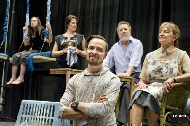 Le directeur artistique du Théâtre Tremplin, Benoit Roy,... (Martin Roy, LeDroit)