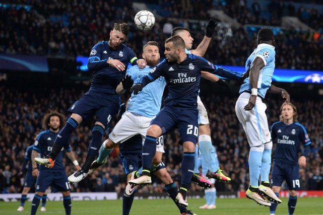 Le Real Madrid a bien fait en dépit de l'absence de Cristiano Ronaldo et... (AFP)
