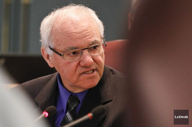 L'ombudsman de la Ville de Gatineau, André Guay,... (Patrick Woodbury, Archives LeDroit)