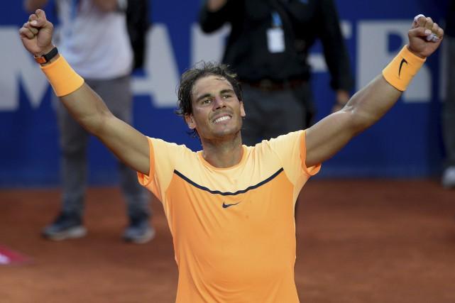 Vainqueur de ses deux derniers tournois, Rafael Nadal... (AFP, Josep Lago)