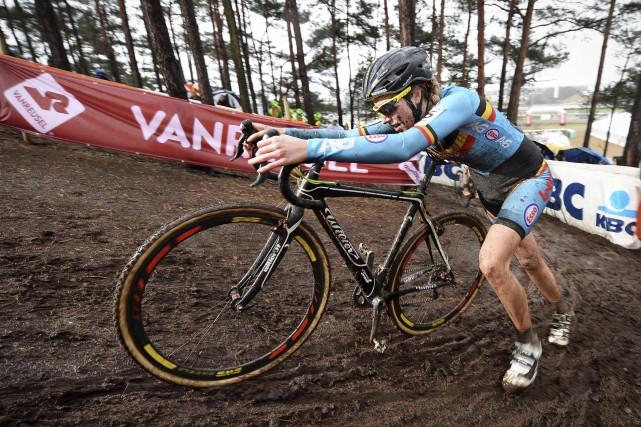 La Belge Femke Van den Driessche a été... (AFP)