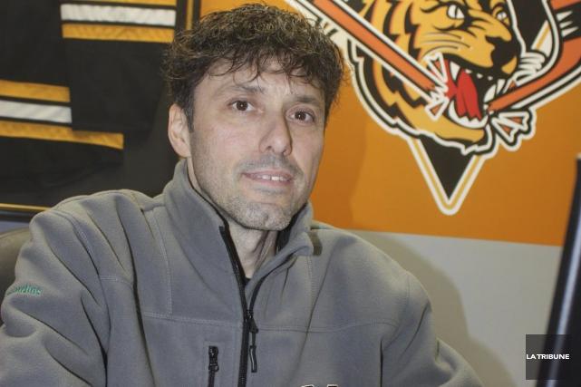 Le directeur général des Tigres de Victoriaville Daniel... (Archives, La Tribune)