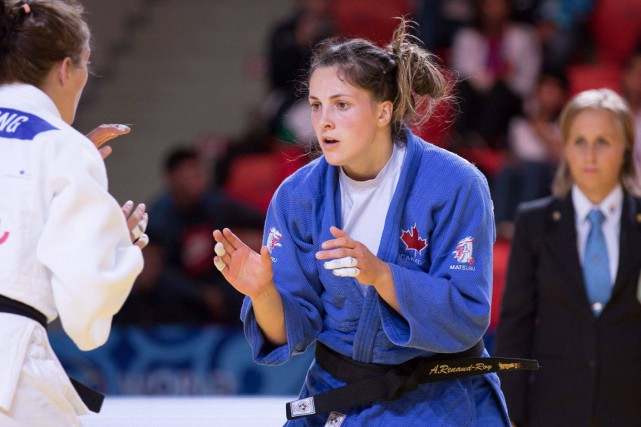 Alix Renaud-Roy disputera une première compétition depuis le... (Rafal Burza/Judo Canada)