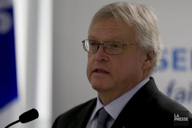Le ministre de la Santé, Gaétan Barrette, estime... (Archives La Presse)