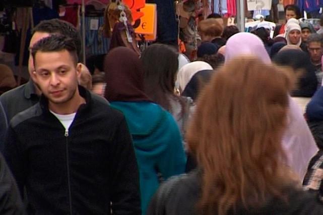 Salah Abdeslam (ci-contreen août 2014, alors qu'il était... (Archives AP)