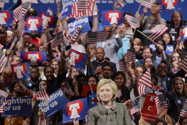 «Nous allons unifier notre parti pour remporter cette... (PHOTO CHARLES MOSTOLLER, REUTERS)
