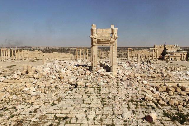 «Les experts de l'UNESCO se sont rendus sur... (PHOTO ARCHIVE AFP)