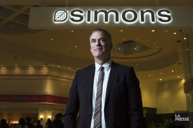 Ces dernières semaines, le président de Simons, Peter... (La Presse Canadienne, Nathan Denette)