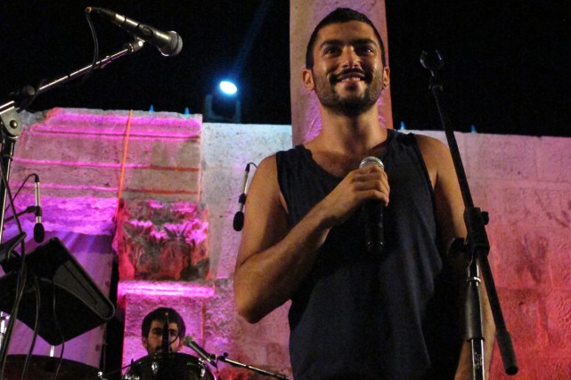 Hamed Sinno, chanteur du groupe Mashrou'Leila.... (PHOTO ARCHIVES AP)