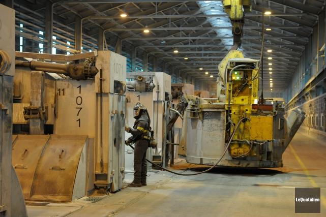 L'usine de Rio Tinto à Alma.... (PHOTO ARCHIVES LE QUOTIDIEN)