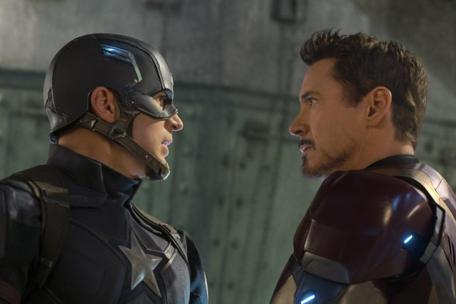 Extrait du filmCapitaine America: la guerre civile, qui... (Fournie par Marvel)