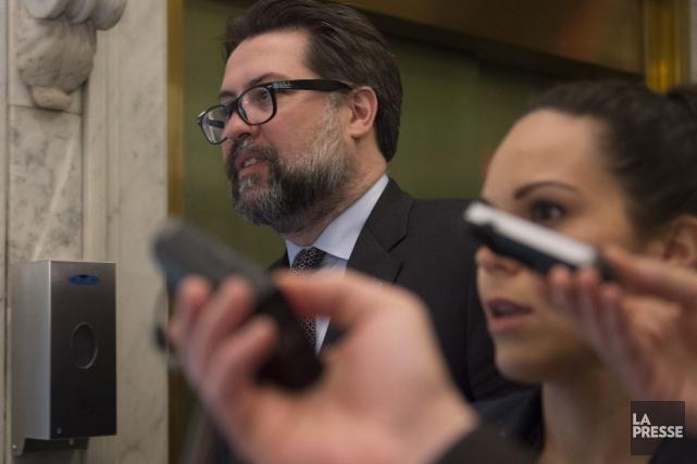Depuis deux jours, David Heurtel refuse de répondre... (La Presse Canadienne, Jacques Boissinot)