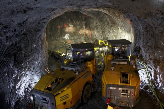Goldcorp exploite onze mines d'or au Canada, au... (PHOTO D'ARCHIVES FOURNIE PAR GOLDCORP)