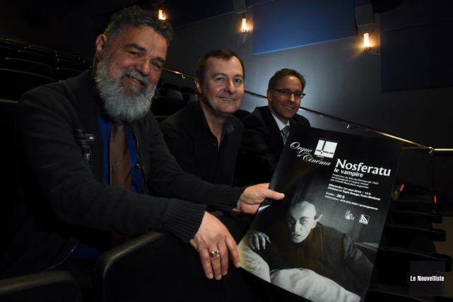 L'orgue et le cinéma renouent grâce à l'événement... (François Gervais, Le Nouvelliste)