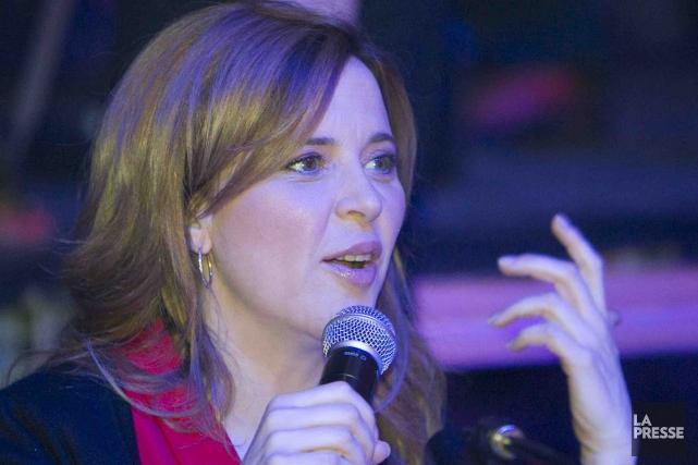 Julie Snyder avait toujours refusé les invitations de... (Archives La Presse)