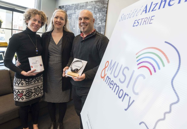 Édith Séguin, responsable du programme Music & Memory... (Spectre Média, Frédéric Côté)