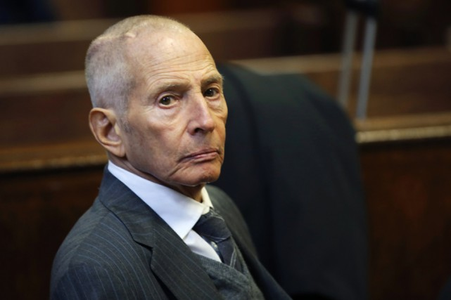 Robert Durst... (PHOTO REUTERS)